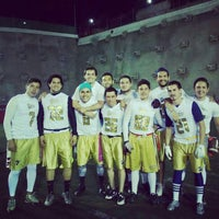 Photo taken at Estadio JOM UVM by Alan O. on 6/23/2015