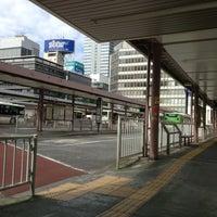 Photo taken at Shinjuku Sta. West Exit Bus Terminal by hideki s. on 5/2/2013
