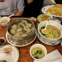 Photo taken at Gourmet Dumpling House by Brittany D. on 4/30/2013
