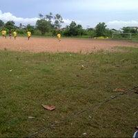 Photo taken at Lapangan bola kayutangi by B M T. on 4/12/2013