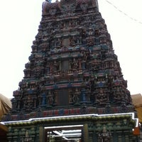 Photo taken at Sri Mahamariamman Temple by c. B. on 11/7/2012