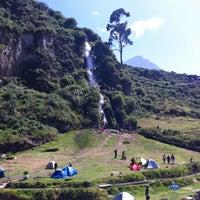 Photo taken at Catarata de Obrajillo by Katherine S. on 4/20/2014