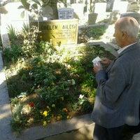 Photo taken at Feriköy İslam Mezarlığı by Feyza D. on 4/13/2013