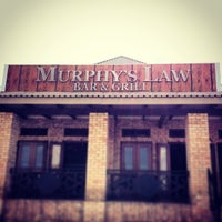 Photo taken at Murphy's Law Bar & Grill by Tyronne S. on 3/2/2014