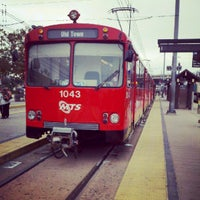 Photo taken at Old Town Trolley Station and Transit Center by Christian M. on 8/15/2012