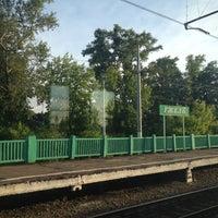 Photo taken at Ж/д станция Гжель by Nataliya Z. on 6/10/2012