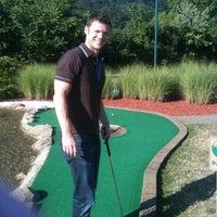 Photo taken at Robert Morris University Island Sports Center - Golf Dome by Tara M. on 7/30/2011