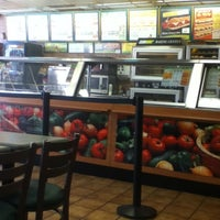Photo taken at SUBWAY by Brittany C. on 11/5/2011