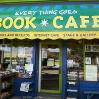 Photo taken at Every Thing Goes Cafe and Bookstore by Brian K. on 8/23/2011