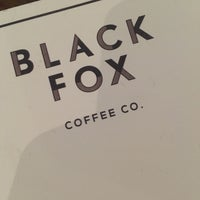 Photo taken at Black Fox Coffee Co. by WillMcD on 10/11/2016