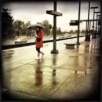 Photo taken at Rockridge BART Station by Evangeline B. on 3/24/2012