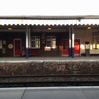 Photo taken at Farnham Railway Station (FNH) by Grace S. on 5/21/2012