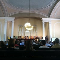 Photo taken at UVM Ira Allen Chapel by Jessica F. on 5/18/2012