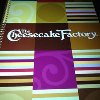 Photo taken at The Cheesecake Factory by Marilyn S. on 9/1/2012