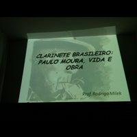 Photo taken at Conservatório Musical Maestro Paulino Martins Alves by Rodrigo M. on 8/29/2012