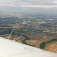 Photo taken at 35000 feet over Texas by ❤️Melanie K. on 8/18/2012