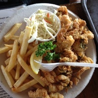 Photo taken at Flo's Clam Shack by Scott C. on 4/1/2012