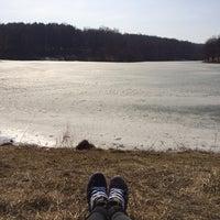 Photo taken at Пруд на Стрельбище by Lelya L. on 3/25/2014
