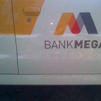 Photo taken at Bank Mega - BSD by Samsul B. on 9/1/2014