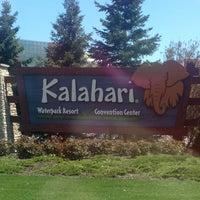 Photo taken at Kalahari Resort by Sandi J. on 5/13/2013