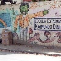 Photo taken at Escola Estadual Raimundo Diniz by Eneas R. on 4/26/2013