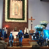 Photo taken at Parroquia de Nuestra Señora de Guadalupe by Juan G. on 10/20/2013