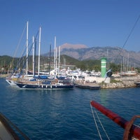 Photo taken at Kemer Türkiz Marina by Cansel S. on 7/3/2013
