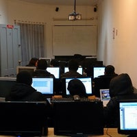 Photo taken at Instituto de Estudios Bancarios Guillermo Subercaseaux by Fabio S. on 5/27/2014
