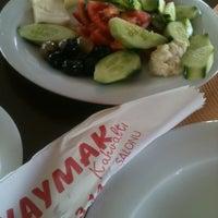 Photo taken at Balkaymak Kahvaltı Salonu by Fatma Ö. on 6/15/2013