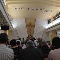 Photo taken at Holy Cross Church 聖十字架天主堂 by Kelvin W. on 4/19/2014