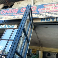 Photo taken at onur oto tamirhanesi by Mustafa K. on 6/22/2013