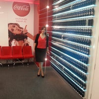 Photo taken at Coca-Cola İçecek A.Ş by Ezgi M. on 4/12/2013