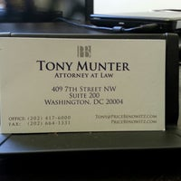 Photo taken at Tony Munter Attorney at Law by Christopher L. on 10/25/2013