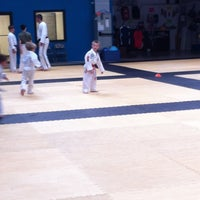 Photo taken at White Tigers Martial Arts Academy by David D. on 4/11/2013