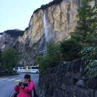 Photo taken at Staubbachfall by Larry O. on 9/14/2017