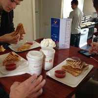 Photo taken at Toasty Lunchroom by Евгений Н. on 5/7/2013