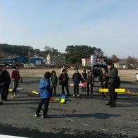 Photo taken at 항공우주테마공원 by sangyeol k. on 12/22/2012