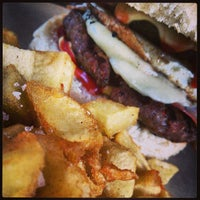 Photo taken at Just Burgers by Konstantinos D. on 7/6/2013