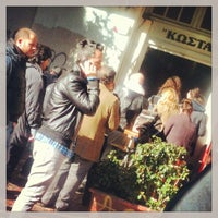 Photo taken at Κώστα by Konstantinos D. on 2/1/2013