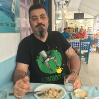 6/25/2016 tarihinde John P.ziyaretçi tarafından Ψαροταβερνα Κουκλις / Kouklis Restaurant'de çekilen fotoğraf