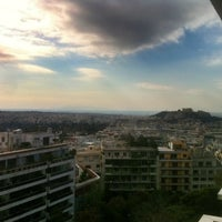 Photo taken at St George Lycabettus Hotel by Dionysios X. on 12/15/2012