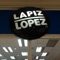 Photo taken at Lápiz López by Sebastian L. on 11/2/2013