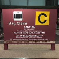 Photo taken at Baggage Claim C by MOXXiQ on 3/26/2014