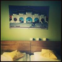 Photo taken at Pangea People Hostel by Binbin Z. on 11/16/2013