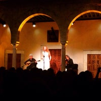 Photo taken at Palais Ennejma Ezzahra (Dar El-Baron d'Erlanger) by Houcem H. on 10/19/2015