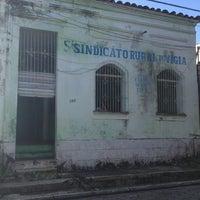 Photo taken at Sindicato Dos Trabalhadores Rurais De Vigia-Pa by Nuellen C. on 8/3/2013