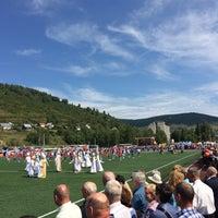 Photo taken at Стадион «Горняк» by Владимир Ш. on 8/25/2018