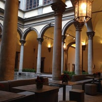 Photo taken at Caffe' Giacosa a Palazzo Strozzi by Alexey B. on 1/31/2014
