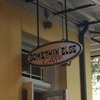 Photo taken at Somethin' Else Café by Caron H. on 10/12/2013