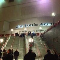 Photo taken at Joe Louis Arena by Al M. on 11/25/2012